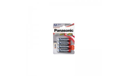 PILHA PANASONIC LR6 EVERYDAY BL4